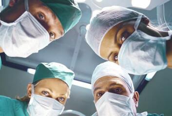 Kirurger. (Illustrasjonsfoto: Colourbox.no)