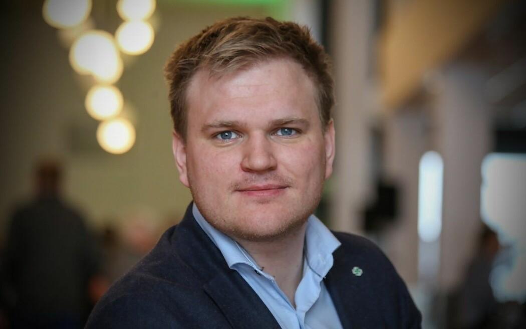 Aleksander Øren Heen frå Senterpartiet er den nye styreleiaren i Vestlandsforsking. Han kjem frå Årdalstangen og er i dag politikar på heiltid.