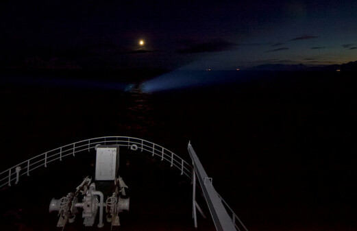 Arctic light pollution affects fish and zooplankton up to 200 metres deep