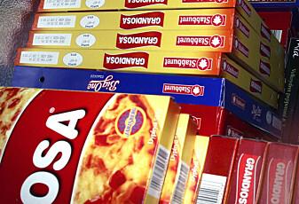 Hvor usunt er det egentlig å spise frossenpizza?