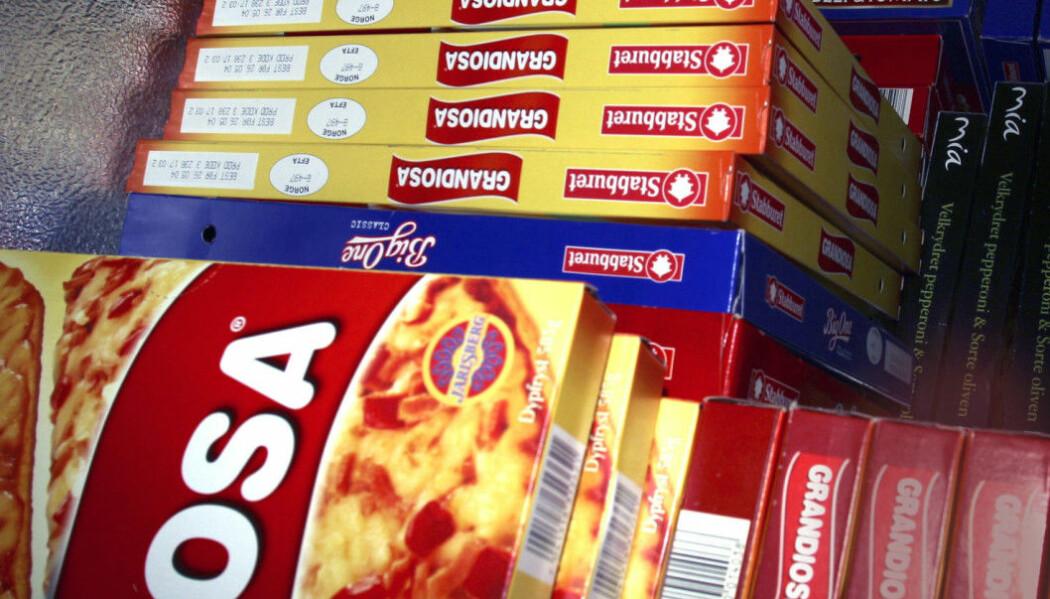 Vi spiser i gjennomsnitt fem kilo frossenpizza hver hvert år. Er det for mye?