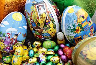 Vi har ikke alltid hatt det så koselig i påsken