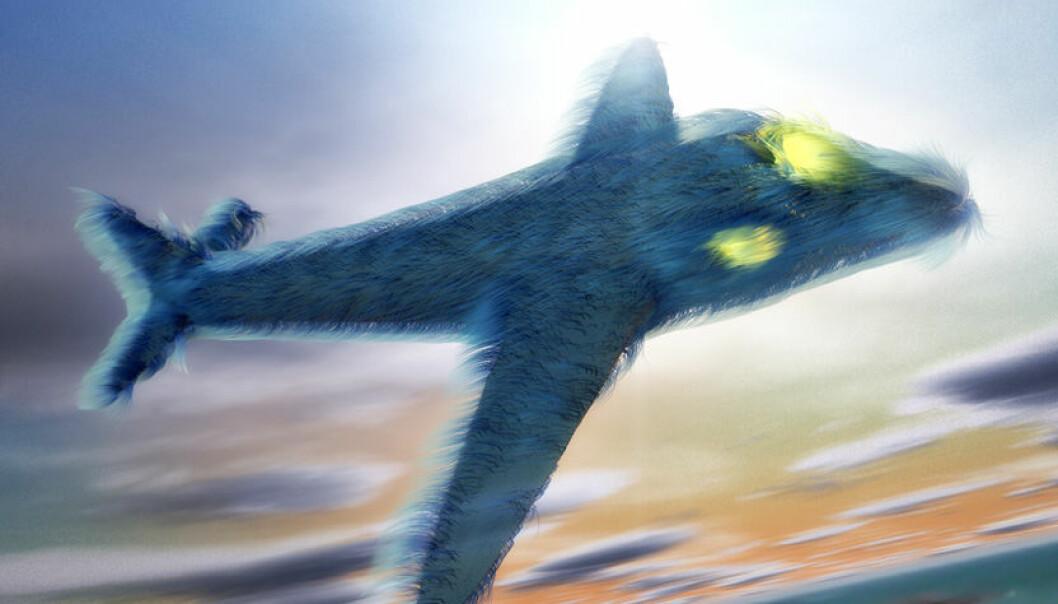 Framtidas fly kan få pels