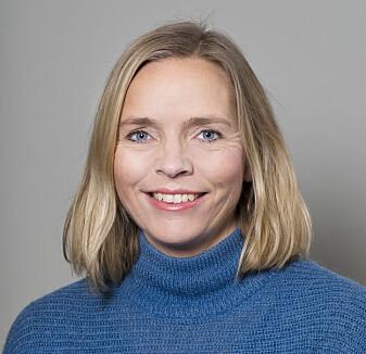 Carolina Øverlien er forsker på Nasjonalt kunnskapssenter om vold og traumatisk stress