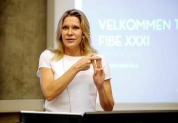 Professor Melissa Schilling. (Foto: Helge Skodvin)