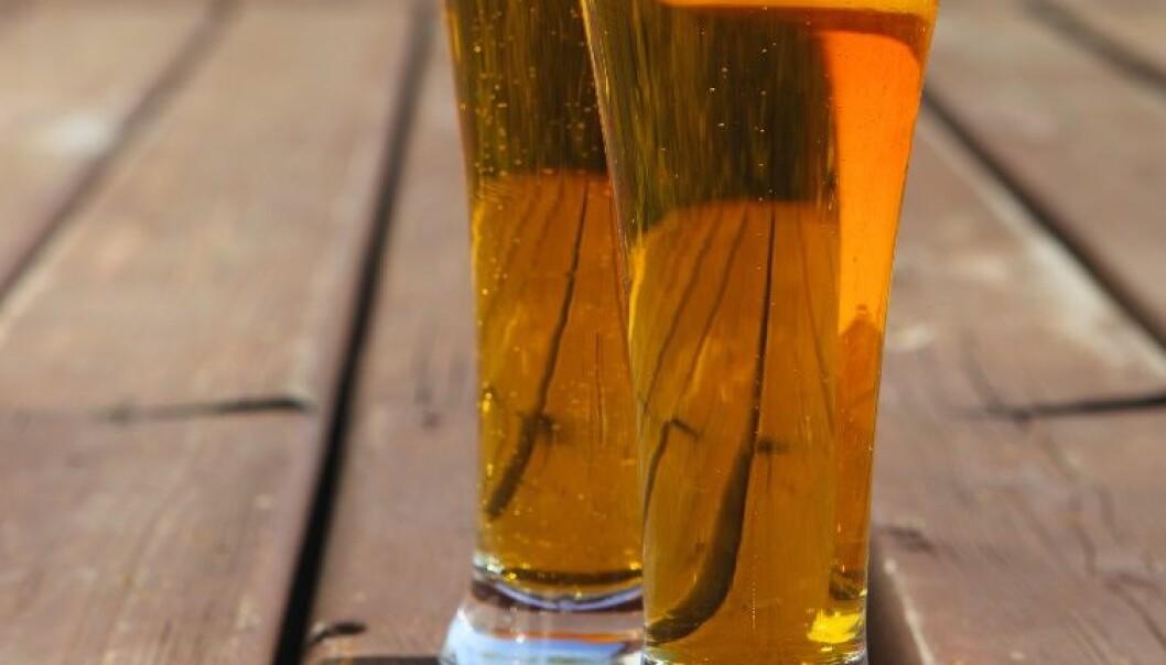 - En øl eller to om dagen er sunt