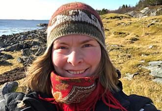 Gode erfaringer. Lærer og student Jannicke Grønås Kvitvær fra Dønna tar ofte i bruk ideer fra ressursbasen, også nå som elevene er hjemme.