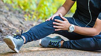 Nå kan en skadet menisk-kant repareres: – Kneet blir som nytt