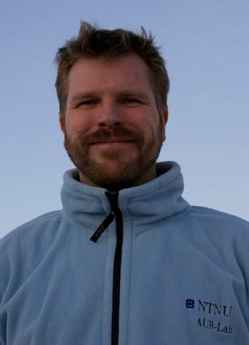 Øyvind Ødegård er marinarkeolog ved Vitenmuseet i Trondheim - og er tilknyttet AUR-lab, NTNUs senter for anvendt forskning på undervannsrobotikk. (Foto: Geir Johnsen / NTNU)