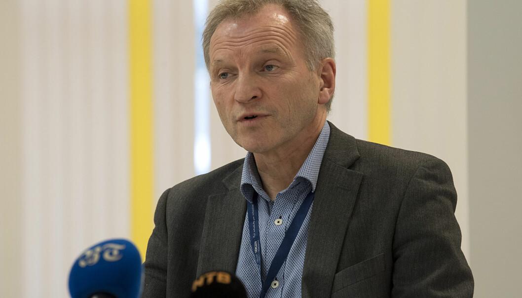 Sykehussjef Eivind Hansen konstaterer at tiltakene mot spredningen av koronasmitte virker. En prognose viser at Haukeland ikke kommer til å få flere enn 200 innlagte koronapasienter, sykehuset har kapasitet til dobbelt så mange.