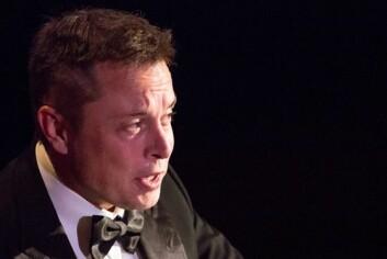 Elon Musk var en typisk bokorm uten venner. Nå er han milliardær og grunnleggeren av Tesla Motors, PayPal og SpaceX. (Foto: Scanpix, Andrew Kelly)