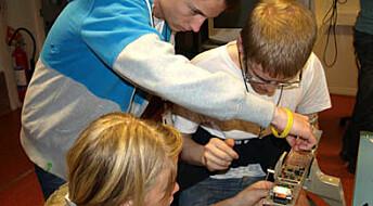 15 år med unge rakettforskere