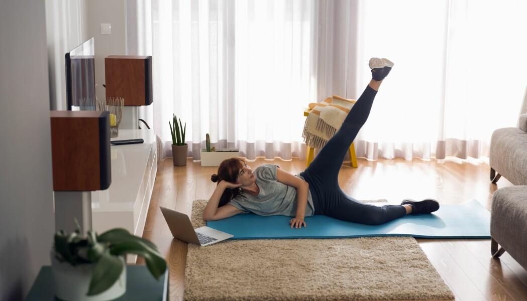 Kanskje må du innføre nye helsevaner som passer til et liv mellom husets fire vegger.