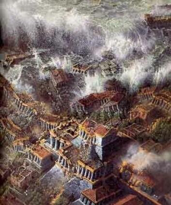 """""""Atlantis. Det sunkne kontinentet dukker stadig opp i New Age."""""""