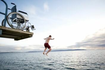 Hopp i havet. (Foto: iStockphoto)