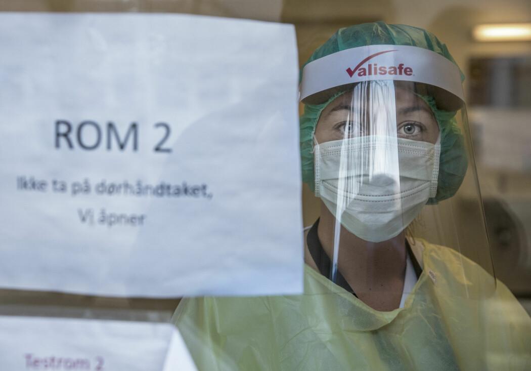 Forskere tester muligheten for å koble flere enn én pasient til hver respirator i en krisesituasjon.
