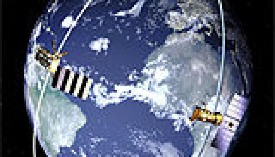 Klimaendringer og satellitter