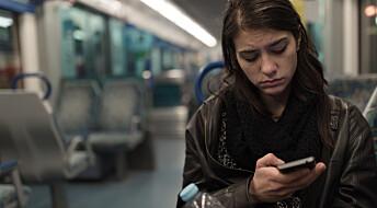 Bruker du app eller sosiale medier når du er syk?