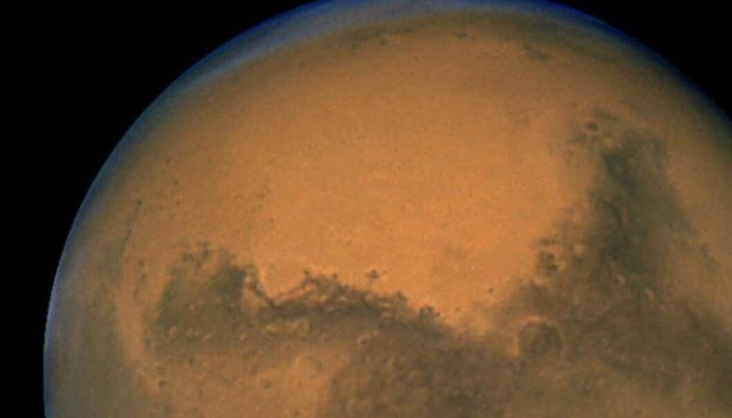 Går i dybden på Mars