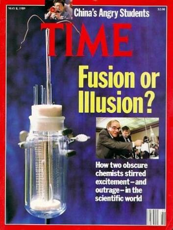 Fusjon eller illusjon? Det viste seg å være det siste. (Foto: (Faksimile: NRK))