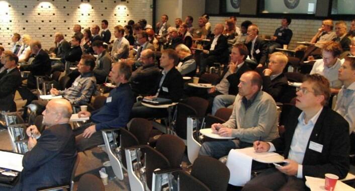 Deltakere på konferansen GeoEnergi2011. (Foto: Arnfinn Christensen)