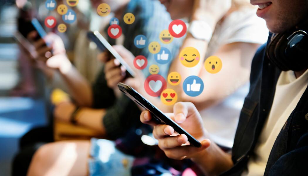 I 2017 delte nordmenn særlig saker om politikk i sosiale medier.