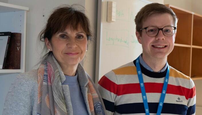 Forskerne Marit Westergaard og Terje Lohndal bruker kjønn på substantiv til å lære mer om hvordan hjernen deler inn ting i kategorier.