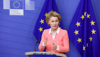 Ursula von der Leyen says that the EU should be climate neutral by 2050.