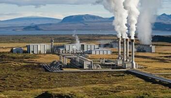 Nesjavellir geotermiske kraftverk i Þingvellir, Island Gretar Ívarsson
