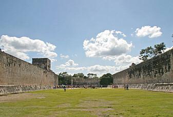 Et mystisk ballspill ble spilt her for over tusen år siden