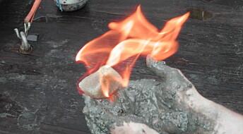 Isen som brenner