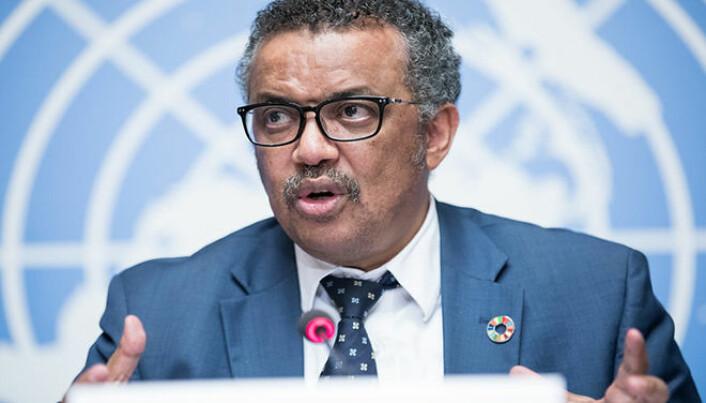 Dr Tedros Adhanom Ghebreyesus, Director-General, World Health Organisation (WHO)