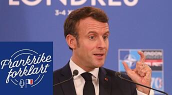 Hva vil Macron med NATO og EUs forsvar?