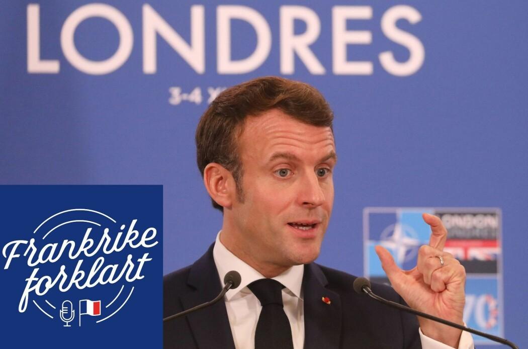 Macron påpekte en økende trend i NATO der solidaritetsånden viker unna for interessemotsetninger.