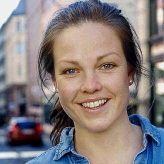 Emilie Bratt Jakhelln ved Senter for idrettsskadeforskning.