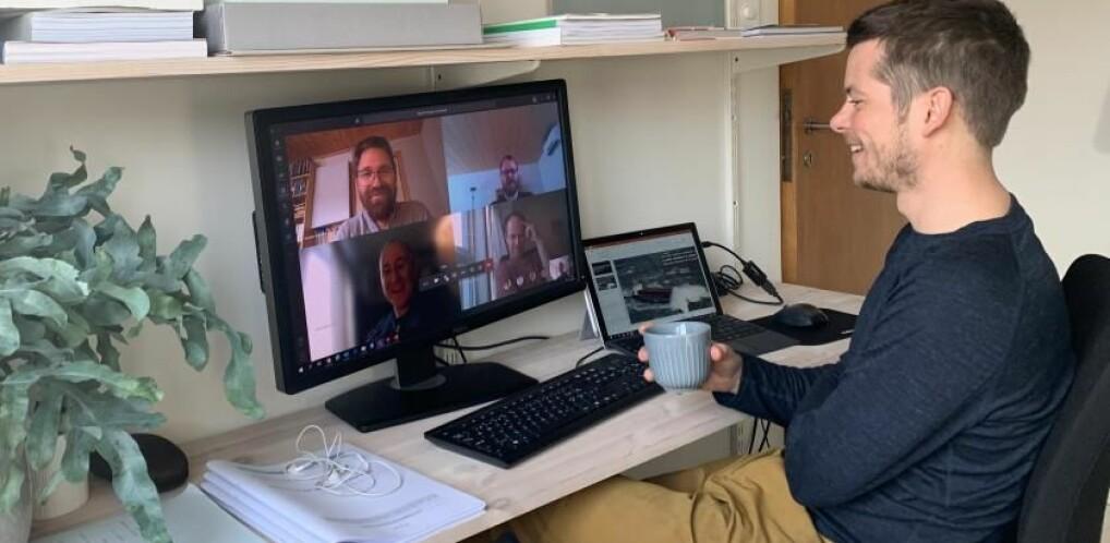 Forsvarte doktorgrad på nett: – Som å gifte seg online