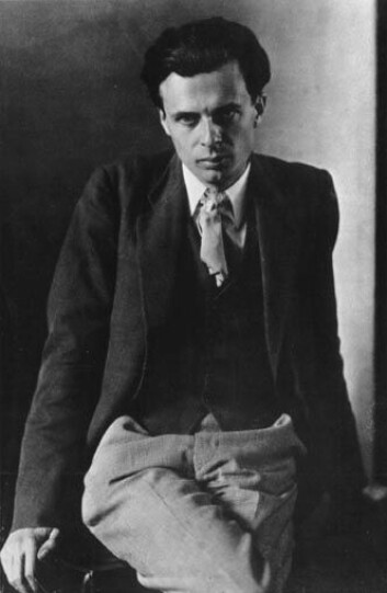 """""""Aldous Huxley, forfatter som eksperimenterte med meskalin."""""""