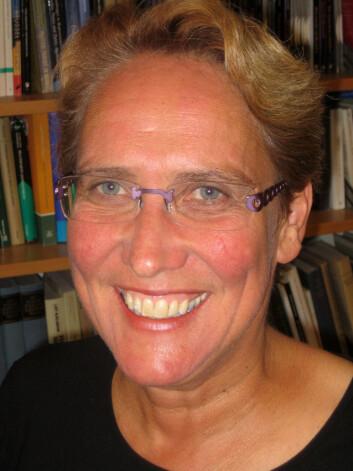 """""""Hanne-Marthe Narud har analysert kvinners stemmegivning i valget i 2005 for Valgforskningsprogrammet. (Foto: Kristin Engh Førde)"""""""