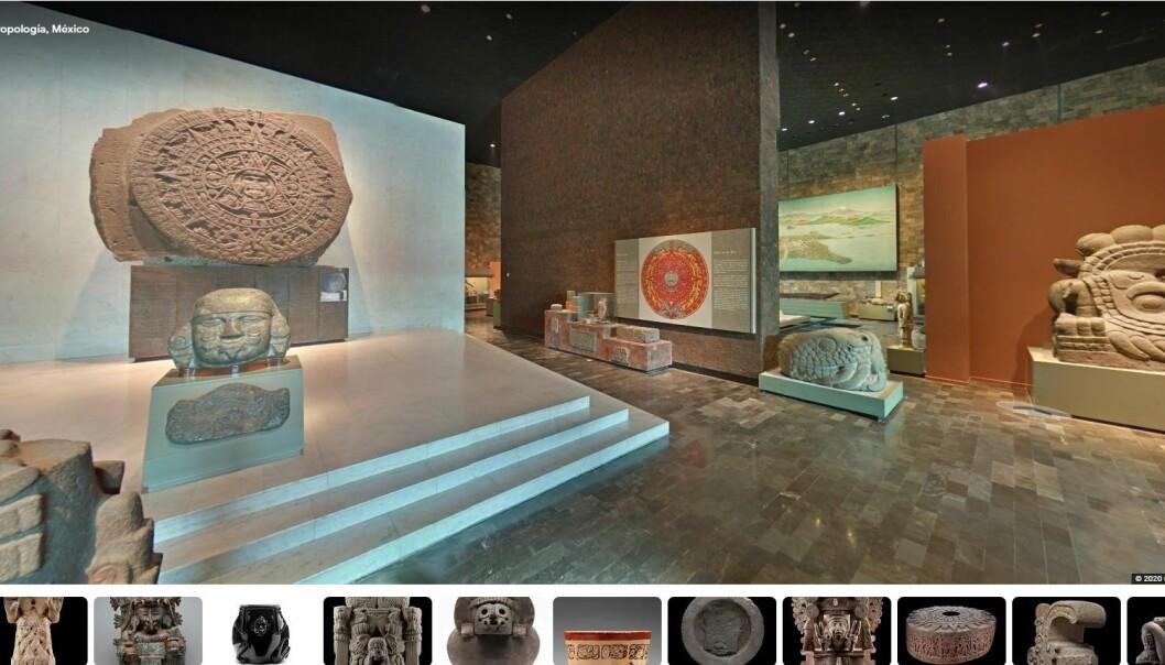 Aztekernes kalenderstein er over 500 år gammel.