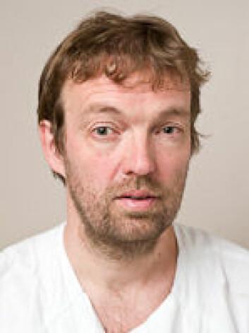 Torgeir Bruun Myller mener fallskader er vanskelig å oppdage hos eldre pasienter. (Foto: UiO)