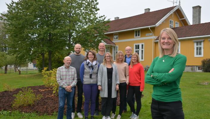Forskningsleder KariAnne Vrabel og hennes stab på Forskningsinstituttet ved Modum Bad må kaste seg rundt og drive mer innovativ behandling om dagen.