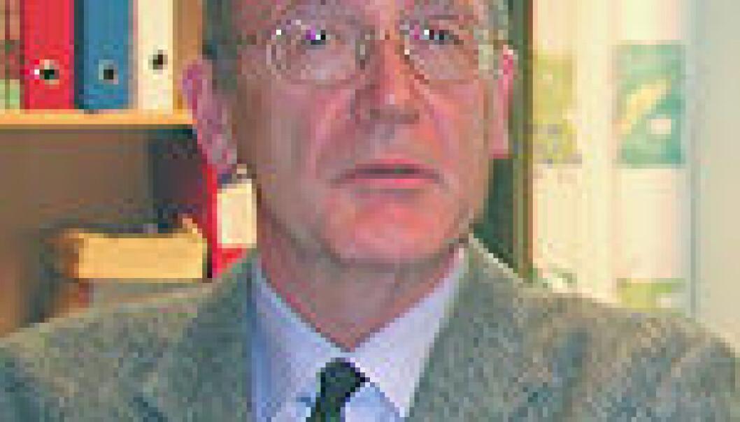 Lorentz Irgens. (Arkivfoto, UiB)