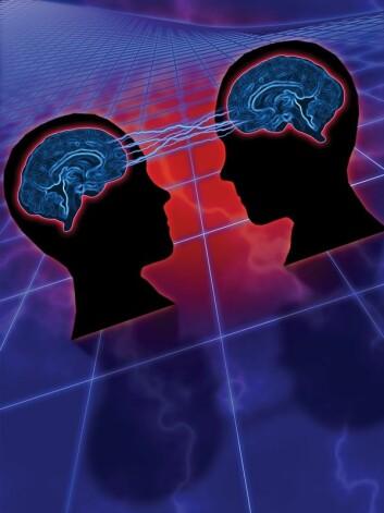 """""""Sony har tatt patent på direkte stimulering av hjernen med ultralyd - om ikke tankeoverføring, så sanseoverføring. (Illustrasjonsfoto)"""""""