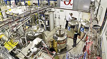 Antimaterie er fanget for første gang