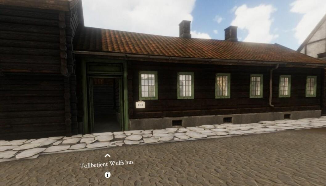 Historikerne tror Wulf og kona Elsine Schønning bodde her fra 1796 til 1802.