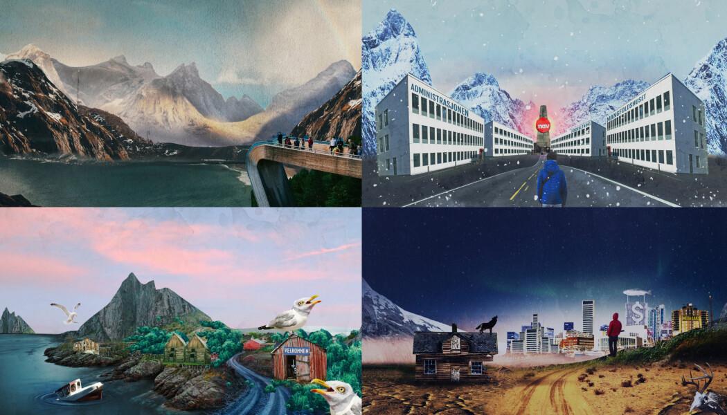 Ulike framtidsbilder av Nordland. Hvilket blir virkelighet?