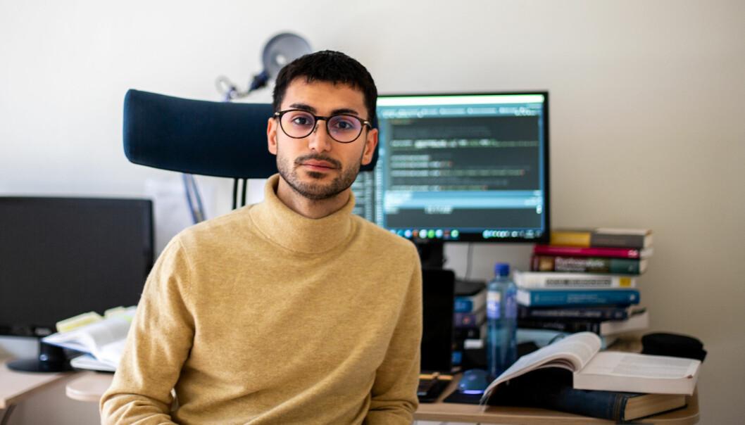 Omid V. Ebrahimi er dobbeltkompetansestipendiat. Det betyr at han samtidig skal avlegge en doktorgrad og oppnå spesialistkompetanse innen psykologi.