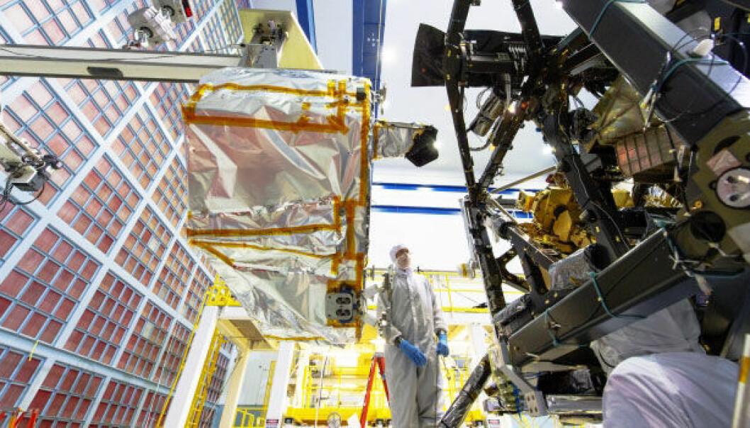 Se verdens kraftigste romteleskop bli bygget