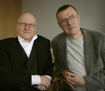 Karl Gunnar Johansson og Terje Spurkland. (Foto: Annica Thomsson)