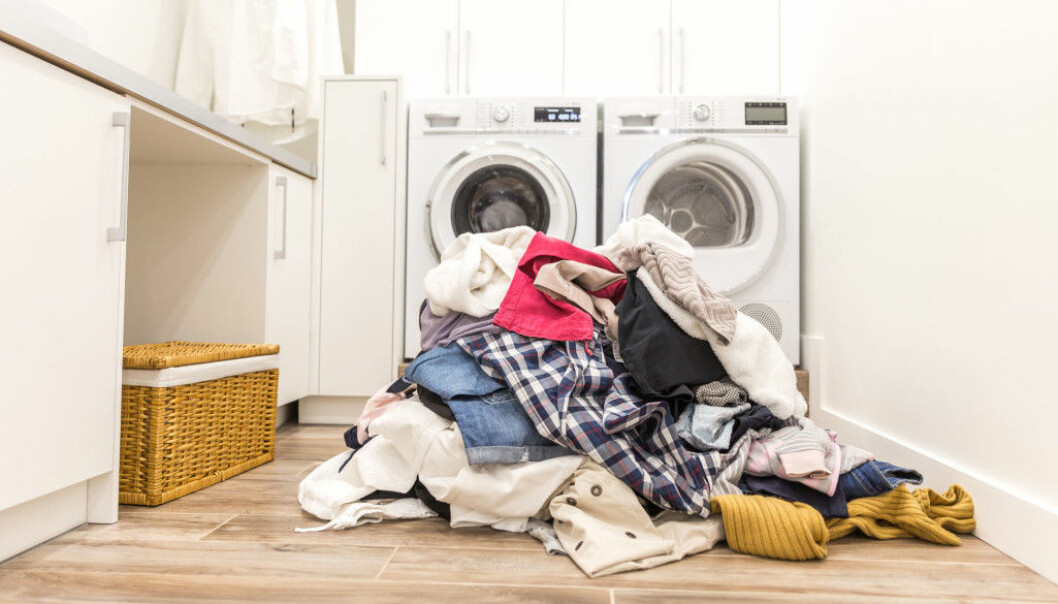 """Clothes and other laundry belonging to a sick person should never be mixed with those belonging to other members of the household"", says researcher Ingun Grimstad Klepp."